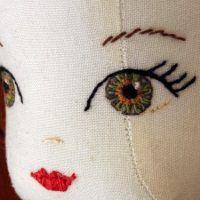 Como bordar ojos