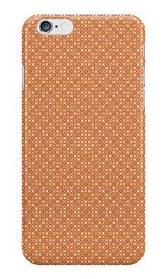Pattern #1015 - orange #IPhone #case / #skin with pattern http://www.redbubble.com/people/kuzmich/works/20886678-pattern-1015-orange?c=488730-the-patterns&p=iphone-case&ref=work_collections_grid