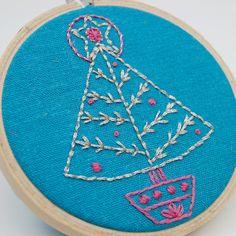 hand embroidery pattern christmas tree septemberhouse