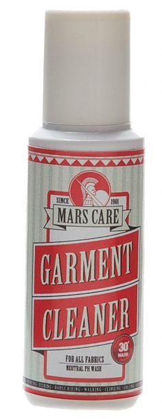Mars Care - Garment Cleaner Eco - 75ml Bottle Technical gear cleaner for all outdoor wear and shell
