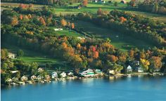 Keuka Lake, New York.