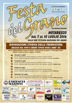 FESTA DEL GRANO  Notaresco http://ift.tt/29irUDp