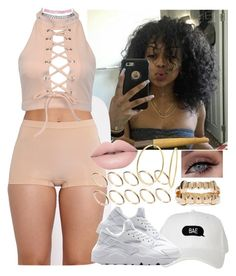 """""""✨"""" by saucinonyou999 ❤ liked on Polyvore featuring NIKE, ASOS, Bling Jewelry and Wet Seal"""