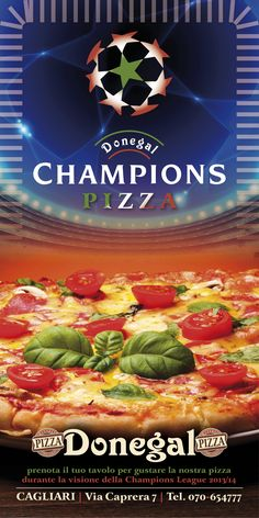 Donegal Champions Pizza!!!