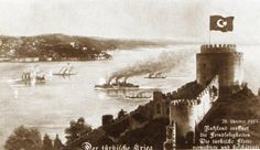 Turkey in the First World War - Major Naval Operations