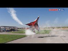 SPECTACULAR Soviet Mikoyan MiG-29 OVT VECTORED THRUST Demo - YouTube