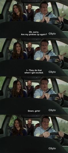 Modern Family--Love Cam and Gloria :)-------
