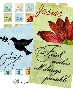 CHRISTian Images 2 (1 x 1 Inch) Digital Collage Sheet Buy 2 Get 1 Sale JESUS TRUTH christ dove faith printable magnet button sticker via Etsy