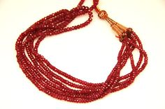 36pcsfr-003  natural ruby faceted rondel sized 3mm by 3yes on Etsy