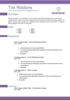 sample resumes 2016 sample resumes - Sample Resumees