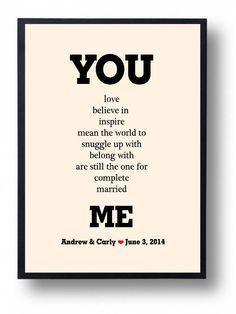 cute Valentine quote idea.