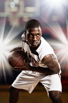 McClanahan Studio | Sports | Basketball | Senior Portrait | very powerful senior portrait