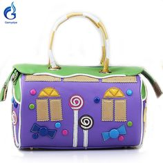 Italy PU sweet Lollipop candy Style Retro made Bolsa bag -  Like and share this pure awesomeness!