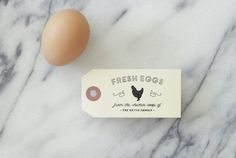 Chicken Rubber Stamp  Egg Carton  Chicken by SubstationPaperie