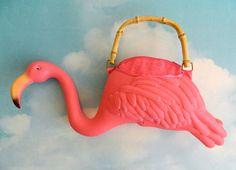 Sewing Inspiration - Pink Flamingo Purse