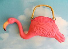Sewing Inspiration - Pink Flamingo Purse