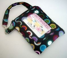 Student ID Window Wallet Gadget Case Double Padded  Bold Dots by JPATPURSES, $20.00 earmarksocial
