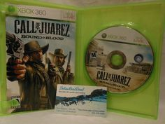 Call of Juarez: Bound in Blood (Microsoft Xbox 360, 2009) complet