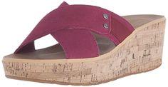 Rockport Women's Weekend Casuals Lanea Cross Slide Platform Sandal => Startling review available here  : Wedge sandals