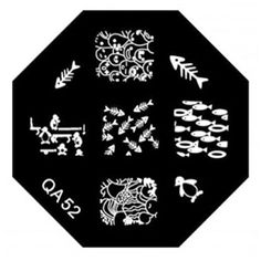 Fascinating Nail Art Stickers Stamp Plate New in Market Manicure Styles Code QA52 >>> You can get more details by clicking on the image.