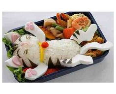 65 Examples of Food as Art - From Celebrity Bento Boxes to Handbag Cakes (CLUSTER)
