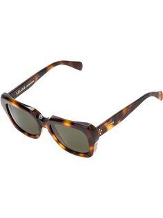 0c561aa24d thick tortoiseshell sunglass Gold Aviator Sunglasses