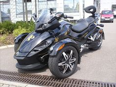 Can-Am Spyder  Another entry in my three-wheeler portfolio.