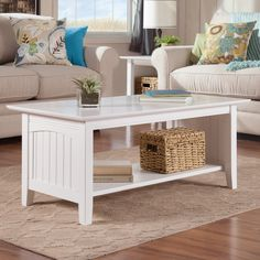 Atlantic Furniture Charlotte Coffee Table - Coffee Tables at Hayneedle