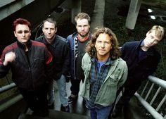 Pearl Jam. {Eddie Vedder is a hottie}