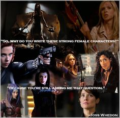Strong women characters