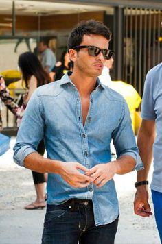 Jeans aposta já ganha! Look #moderno #despojado #flexivel