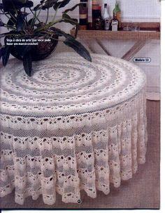 Table Cloth Crochet