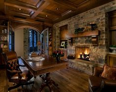 Luxury Home Office Design 80 home office design statistics | sitting area, dark colors and