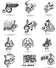 Notes, music staff and treble clef vector free clip art. Just what I needed for ., Tattoo, Notes, music staff and treble clef vector free clip art. Just what I needed for the rest often tattoo! Music Tattoos, Tatoos, Music Staff Tattoo, Art Tattoos, Love Music Tattoo, Sheet Music Tattoo, Music Symbol Tattoo, Tattoo Lyrics, Gangster Tattoos