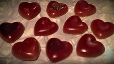 Chocolate Rose Bath Melts by KalMalCreations on Etsy, $4.50