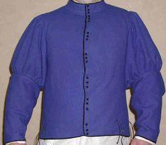 Great site with research and construction of late 15th century Italian doublet, called a farsetto.