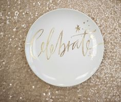 style me pretty - surprise party - reception decor - table decor