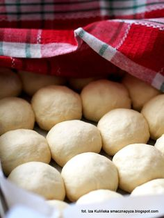 drozdzowe-buleczki-nadziewane-powidlami Anna, Potatoes, Vegetables, Potato, Veggies, Veggie Food, Vegetable Recipes