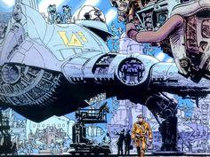 retro sci fi city - Google Search