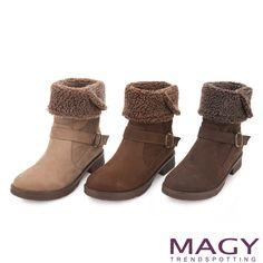 $3680-MAGY 柔軟暖呼呼 2WAY荔枝紋牛皮中筒靴-咖啡 - Yahoo!奇摩購物中心(咖啡缺50/70/75-棕灰剩60-可可缺50)