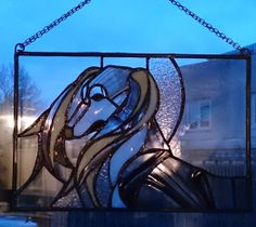 Stained glass / Saluki