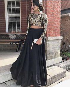 New royal Bollywood black color lehenga choli for bridal.For order whatsapp us on blouse combinations blouse saree blouse work blouse dupatta blouse blouse blouse blouse blouse blouse lengha Indian Lehenga, Lehenga Anarkali, Lehnga Dress, Indian Salwar Kameez, Black Lehenga, Lehenga Top, Sharara, Indian Prom Dresses, Dress Indian Style