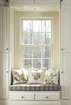 Custom Homes - KEVIN HARRIS ARCHITECT, LLC - Window Reading Nook