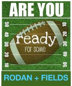 What's your #DEFENSE? I can help you with a #GAME PLAN in the fight against #Dark #Marks, #Acne, #Sun #Damage, and #Sensitive #Skin! Are you ready to #WIN in the battle against #aging skin? mrockford.myrandf... #SuperBowl #Football #NFL #Rodan+Fields #Clinical Skin Care https://giddyup.myrandf.com