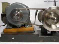 Lorch-Drehmaschinen-Antrieb, Wippenmotorantrieb