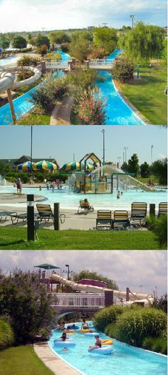 At the River Country Family Water Park in Muskogee, there's endless ways to have fun in the sun. With giant slides, a lazy river, zero entry pools and much more, kids and adults alike will be splashing for hours.