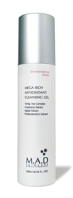 M.A.D Skincare Environmental Mega Rich Antioxidant Facial Cleansing Gel 6.75 oz. ** You can get additional details at the image link.