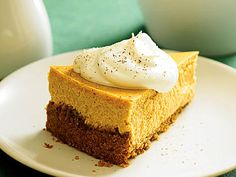 Roasted Sweet-Potato Cheesecake with Maple Cream   Roasted sweet potato offers a perfect earthy sweetness to show off the flavor combo of cinnamon and nutmeg in this creamy cheesecake.