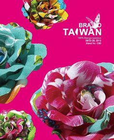 Use of Hakka fabric into flowers.