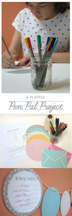 Great tips on getting our young writers started with Pen Pals...